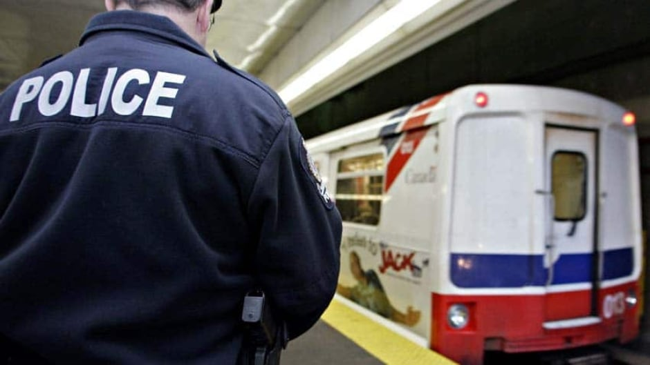 B.C. Transit Police have arrested and charged a man with assault and threatening after a woman wearing a hijab says she was verbally abused and struck while on SkyTrain.