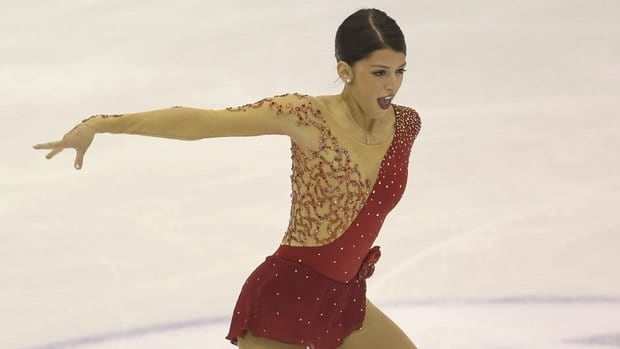 Samantha Cesario of the U.S. skates in the Junior Ladies Short Program during day 5 of the ISU World Junior Figure Skating Championships at Agora Arena on Friday in Milan, Italy.