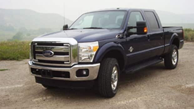 Police say thieves may have found an easy way to steal Ford F350 trucks and advise owners to see their dealer or manufacturer.
