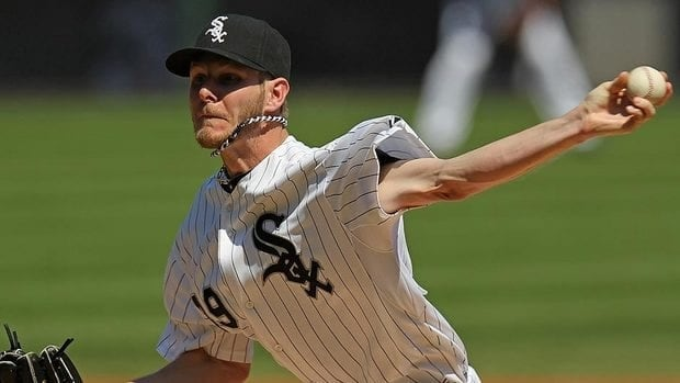 Chris Sale of the White Sox leads all American League starters in earned-run average at 2.05.