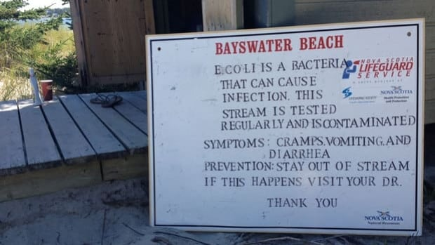 Bayswater Beach has been closed since Wednesday.