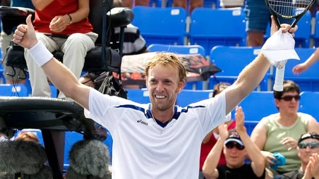 Canada's Frederic Niemeyer, shown here in 2009, was inducted into the Rogers Cup Hall of Fame on Monday.