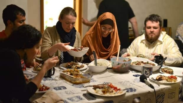 Every night during the holy month of Ramadan, Muslims come together to break their daily fast.