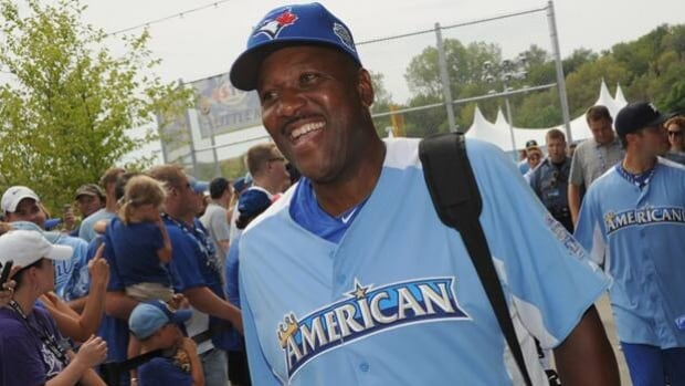 Former Blue Jays slugger Joe Carter is best known for homering to win the 1993 World Series.