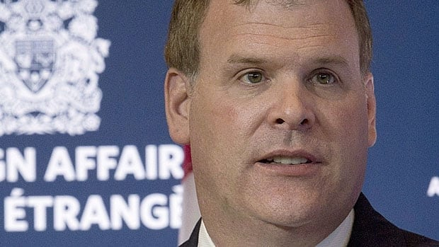 Foreign Affairs Minister John Baird says Ottawa has raised concerns about Russia's anti-gay law privately with Russian officials before and after President Vladimir Putin signed the law.