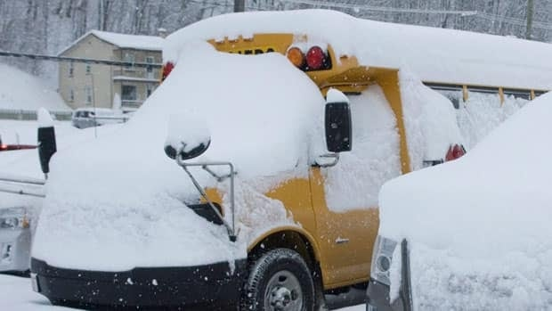 The Cape Breton-Victoria Regional School Board said the decision to cancel school is a judgment call made after consulting meteorologists, the Department of Transportation and the police.