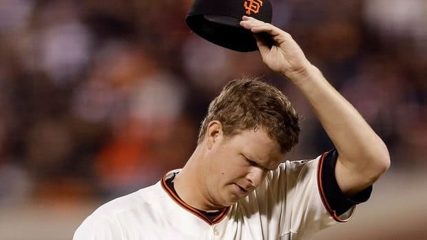 Giants pitcher Matt Cain is 0-3 with a 5.50 earned-run average against the Reds this year including a loss in Game 1 of the NL Division Series.