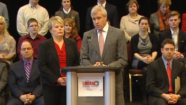 Liberal Leader Dwight Ball and president Judy Morrow launched a new renewal process on Wednesday.