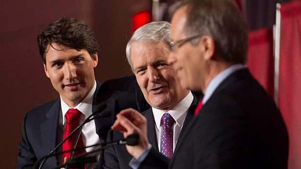 Justin Trudeau (left) took some heat for his recent disclosure of his personal finances during the last federal Liberal leadership debate on Feb. 16. But fellow contenders Marc Garneau (centre) and George Takach (right) have also turned their professional success into a comfortable lifestyle.