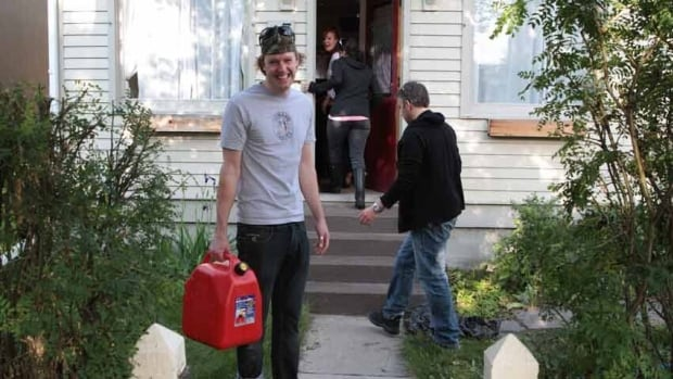 Alex Jackson has spent more than 36 hours trying to pump floodwater from his properties in Calgary's Sunnyside neighbourhood. ''He's the king of pumping,'' jokes a neighbour.
