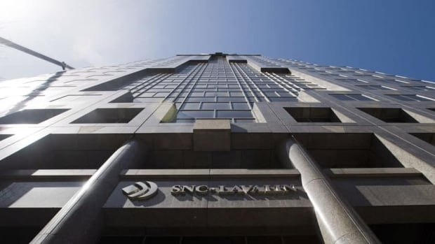 SNC-Lavalin's head office is shown in Montreal on Friday, April 13, 2012.