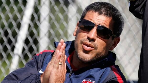 Claudio Reyna, seen as U.S. Soccer Youth Director in 2011, grew up in nearby New Jersey.