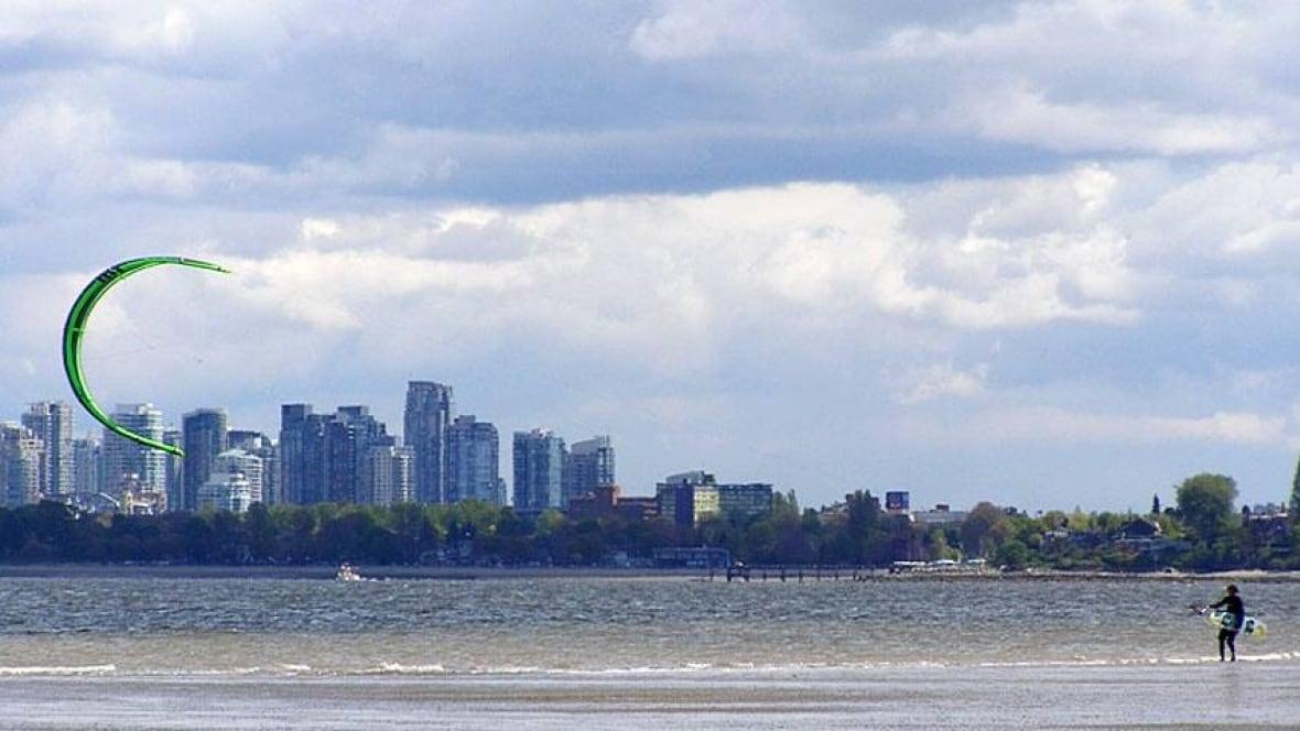 Vancouver Island Kitesurfing