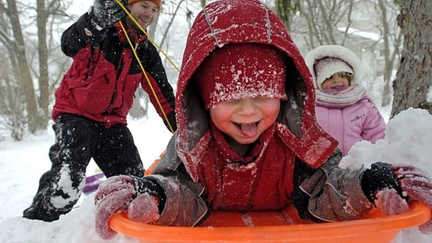 Tobogganing is banned on city property in Hamilton, Ont. and punishable by a $125 fine at 14 hills around Toronto.