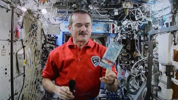 Tickets to see Chris Hadfield speak will go on sale this Saturday.