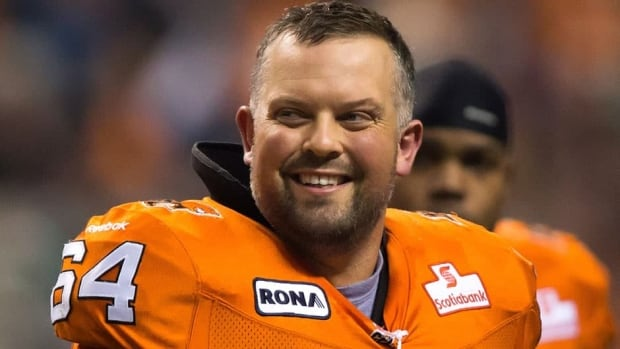 B.C. Lions centre Angus Reid is suffering from a jammed sacroiliac, or SI, joint and a torn ligament in his lower back.