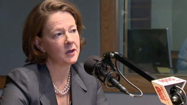 Alberta Premier Alison Redford appeared on CBC Calgary's radio morning show on Monday.
