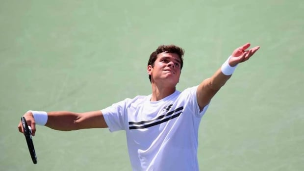 Canada's Milos Raonic lost to American John Isner at the Western & Southern Open on Thursday at Lindner Family Tennis Center in Cincinnati.