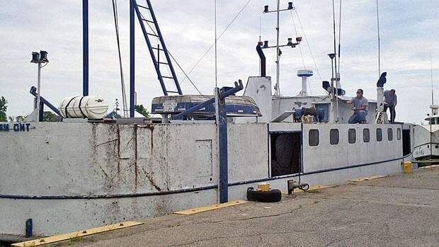 Last year, fisherman brought 6.7 million pounds of fish ashore in Wheatley, Ont.