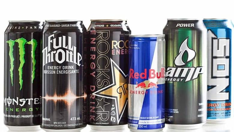 high on caffeine regulating energy drinks