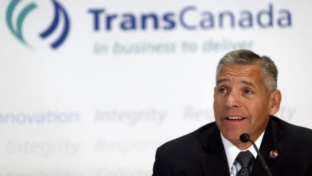 TransCanada CEO Russ Girling is shown Aug. 1 in Calgary. The company is suing Enbridge over a pipeline project meant to serve the Toronto market.