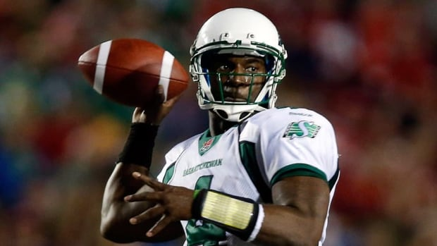 Darian Durant completed 86 of 129 passes for 1,172 yards and nine touchdowns as the Riders picked up wins in three of its four games.