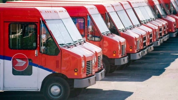 Canada Post said it delivered almost one billion fewer pieces of mail in 2012 compared to 2006. This decrease in mail volume is leading to 'serious financial challenges,' the company said Wednesday.