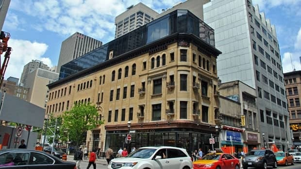 The Dineen building has been part of the streetscape on Yonge in Toronto since 1897. It's in the final stages of a full restoration.