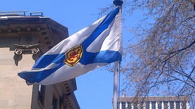 This flag has unofficially been representing Nova Scotia for 155 years.