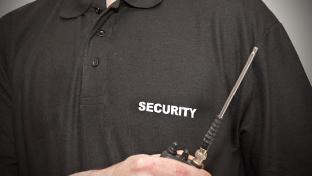 """For the Pan Am Games security guards are no longer prevented from """"providing services or performing duties connected with police."""""""