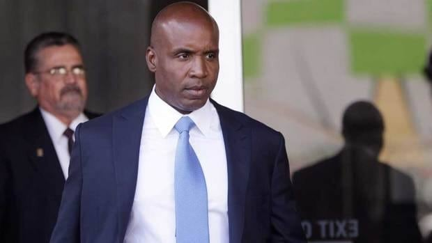 Former San Francisco Giants slugger Barry Bonds was found guilty of obstruction of justice last year.