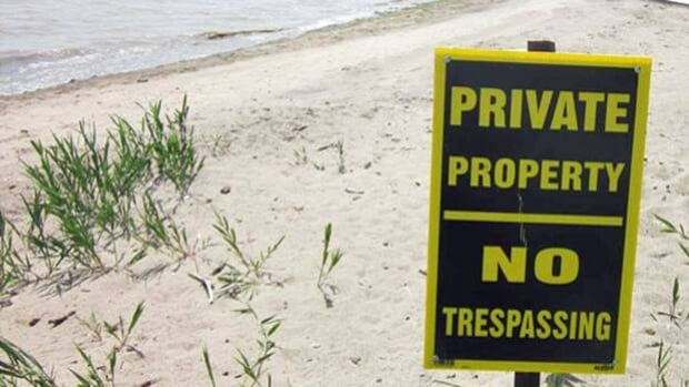 Advocates are pushing for the public to have the right to walk the beach on Great Lakes properties, between the high water mark and the shoreline .