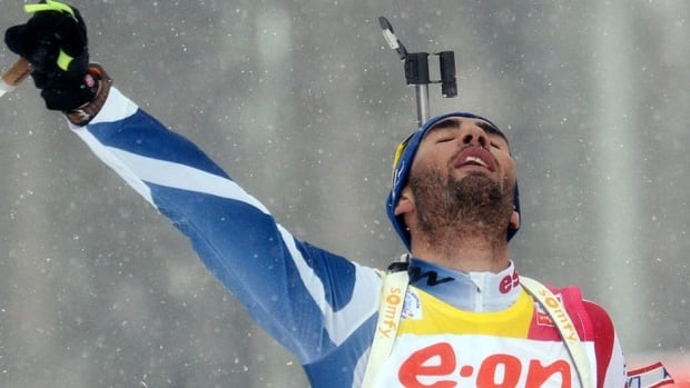 Martin Fourcade dominated the race from the start and clocked 25 minutes, 17.3 seconds