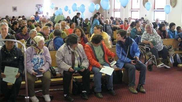 About 200 people attended a mass in Chesterfield Inlet Sunday to mark the 100th anniversary of the establishment of the first Roman Catholic misson in the Eastern Arctic. Some are wondering why there was no healing session planned, as the community was also home to a Catholic-run residential school.