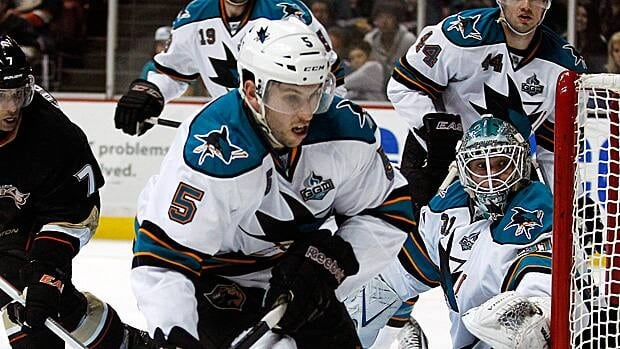 Jason Demers enjoyed his best statistical season in 2010-11 with San Jose.