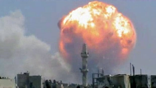 The blasts sent a massive ball of fire into the sky, causing widespread damage and panic among residents, many of whom are supporters of President Bashar al-Assad.