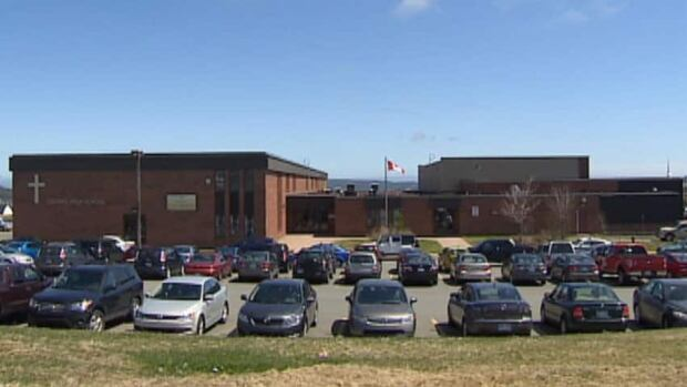 O'Donel High School and three other schools in Mount Pearl were locked down for a time on Wednesday morning.