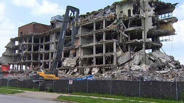 Once demolition is complete, the grace hospital site  will remain vacant until a developer comes forward or city council decides what to do with it.