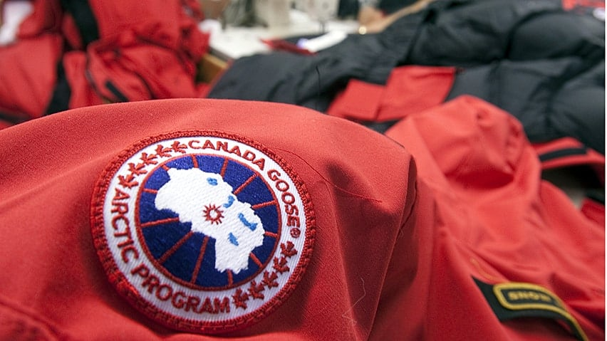 canada goose factory in scarborough