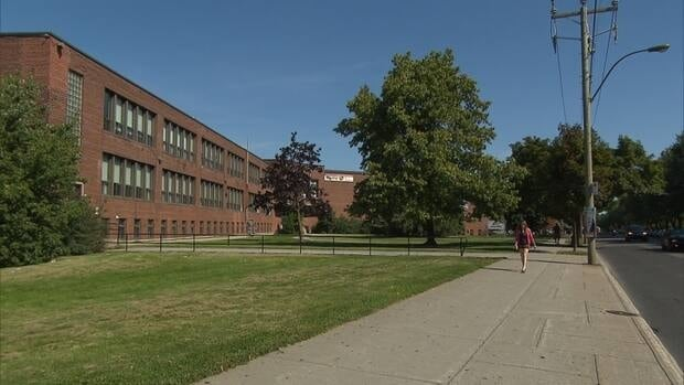 John F. Kennedy High School was shut down in the spring because of asbestos.
