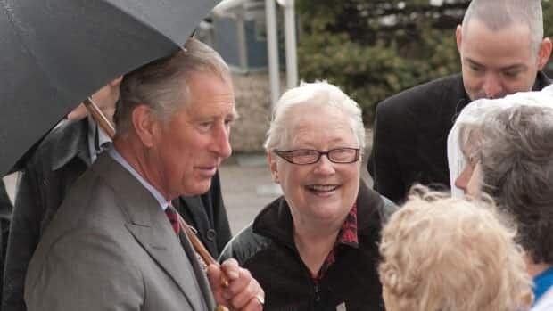 Prince Charles in Saskatchewan