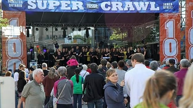 Supercrawl 2012's attendance well exceeded last year's numbers.