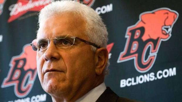 B.C. Lions general manager Wally Buono is in his 11th season with the team.