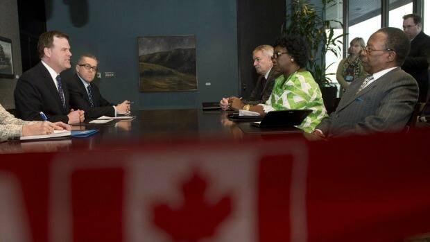 There was little sign Thursday of any need for further help for Mali from Canada. Previously, Foreign Affairs Minister John Baird met with Philippe Zeller, France's ambassador to Canada, back right, and Traoré Ami Diallo, Mali's ambassador to Canada. The envoys briefed MPs Wednesday.