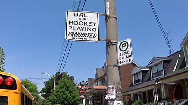 Coun. Josh Matlow wants to create a process for parents to make streets, or portions of streets, exempt from a bylaw that bans people from playing hockey and other ball games on them.