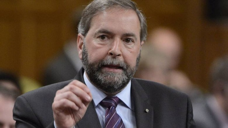 Mulcair questions timing of PM's trip to Brussels