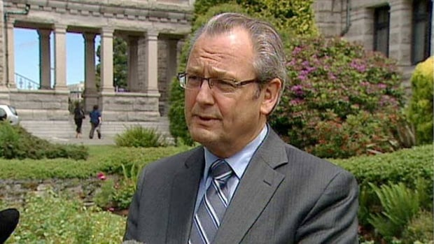 John Les, shown here in this 2012 photo, was appointed to head an earthquake preparedness consultation by the B.C. government on Tuesday.