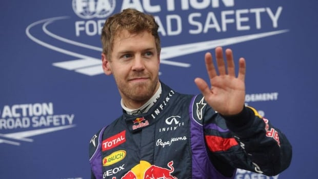 Formula One points leader Sebastian Vettel has won the pole three years in a row at the Canadian Grand Prix.