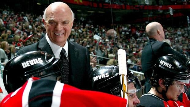 Going behind the bench for New Jersey may have made the normally impassive Lou Lamoriello happy, while keeping hockey observers guessing.