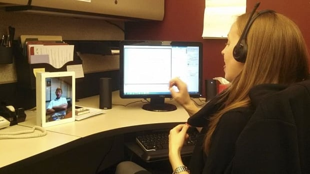 Pictured is Katherine Vance, the interpreter coordinator with UC's Disability Services Office